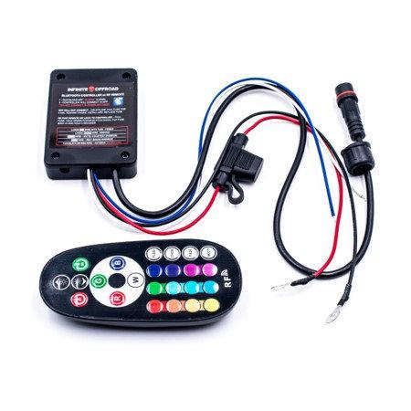 RGB+W Bluetooth Controller w/ RF Remote