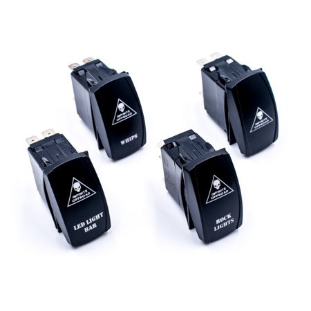 Infinite Offroad Dual LED Rocker Switch (5 Colors)