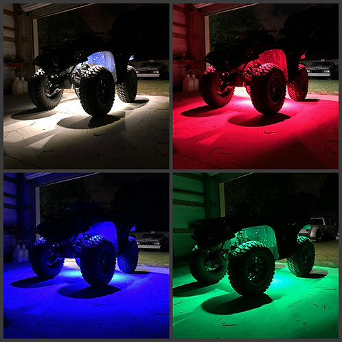 (ATV/4-Wheeler) - RGB+W Rock Light Kit