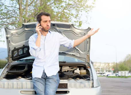 Where to wait for roadside assistance