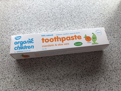 Organic Children's Toothpaste
