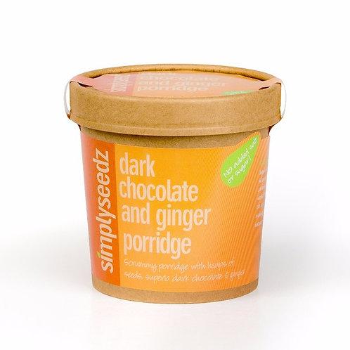 Dark Chocolate & Ginger VEGAN Porridge.