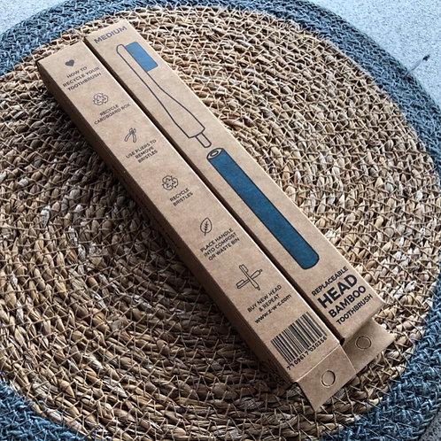 Bamboo VEGAN Toothbrush - Blue