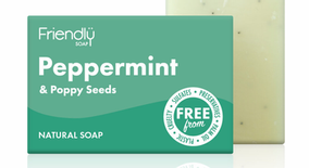 PEPPERMINT & POPPY SEED SOAP