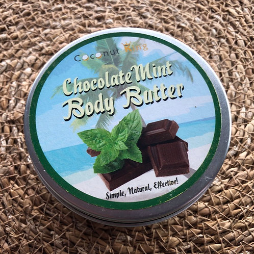 Vegan & Cruelty Free Choc Mint Body Butter