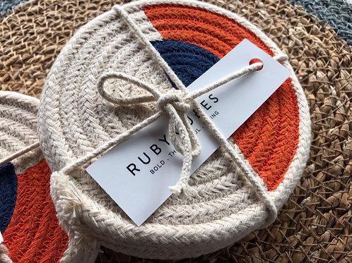 Handmade, Sustainable, Bespoke Rope Coasters