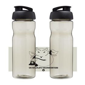 BOTTLE WILL BE BLANK WITH B&W TRANSPORTERS LOGO ON