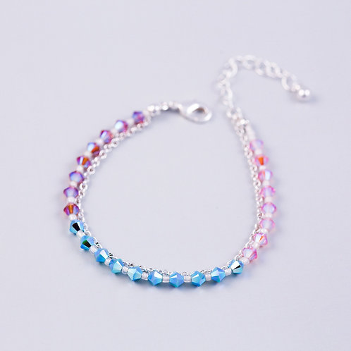 Silver Air Element Bracelet