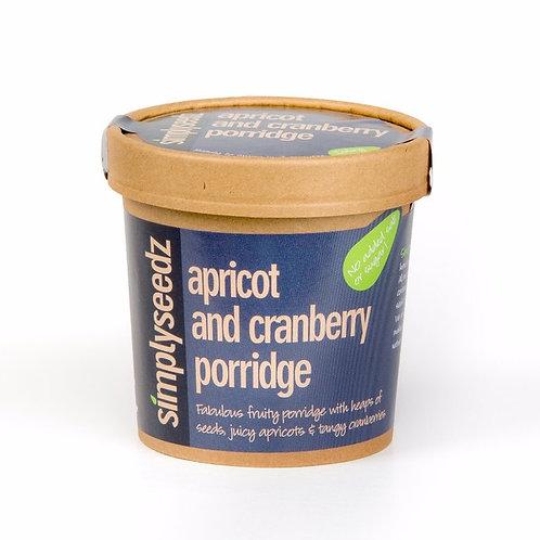 Apricot & Cranberry VEGAN Porridge