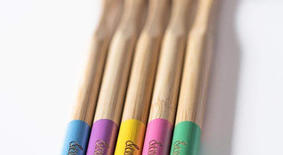 BAMBOO TOOTHBRUSH - PACK OF 5