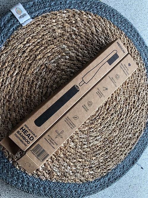 Bamboo VEGAN Toothbrush - Black