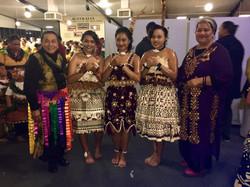 Beautiful Tongan women and youth