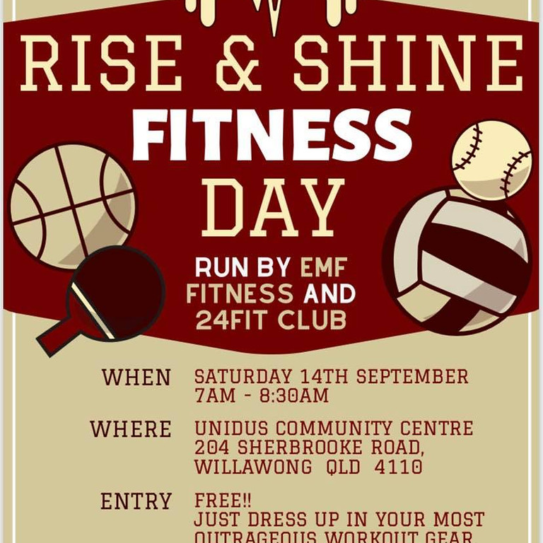 Rise & Shine Fitness Day