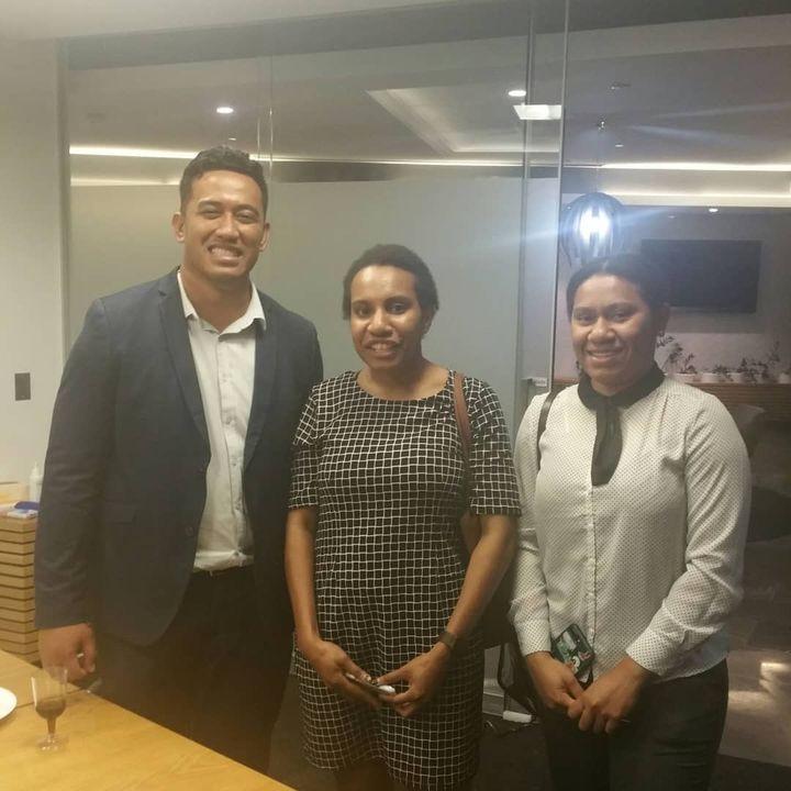 Sinau & members of the Pasifika legal community in Brisbane