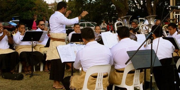 Tongan community brass band