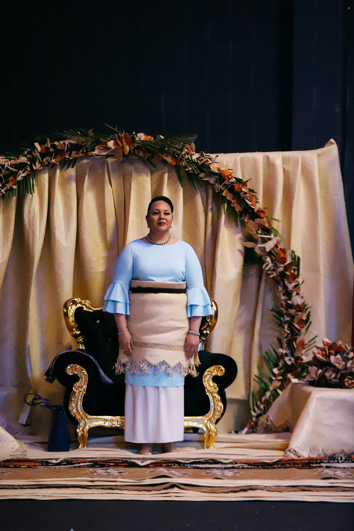 Her Royal Highness Princess Angelica Latūfuipeka Halaevalu Mata'aho Tuku'aho