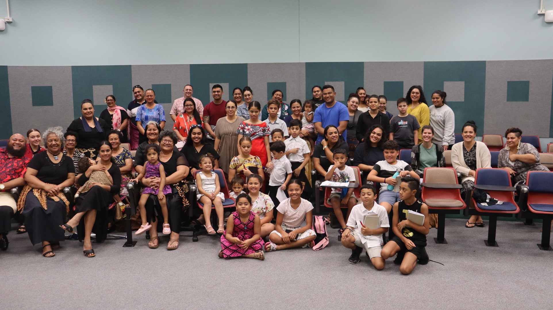 Qld Tongan Language School students