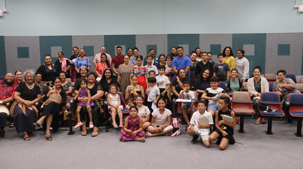Qld Tongan Language School students