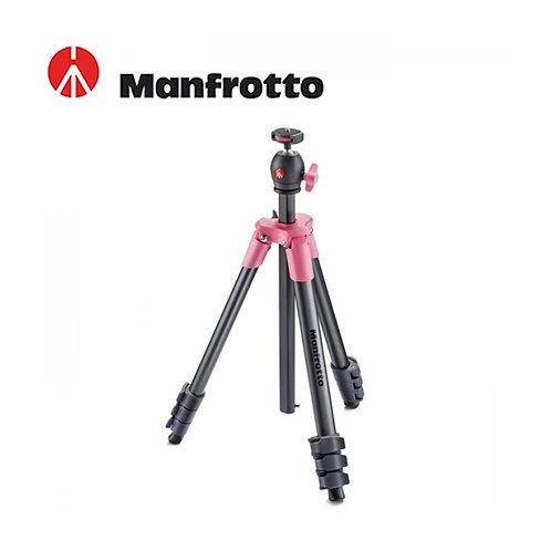Manfrotto MKCOMPACTLT-PK Compact Light Aluminum Tripod (Pink)