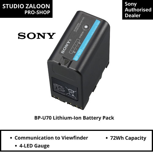 Sony BP-U70 Lit Battery