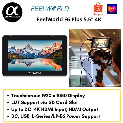 """FeelWorld F6 Plus 5.5"""" 4K HDMI Monitor"""