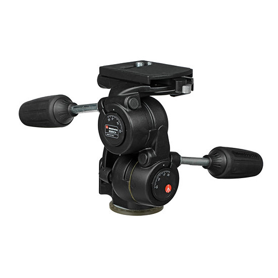 Manfrotto 808RC4 3-Way Pan/Tilt Head with RC4