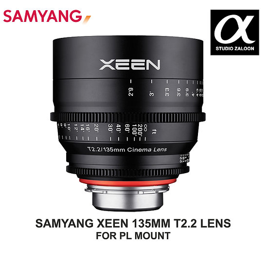 PRE ORDER -5 WEEKS Xeen 135mm T2.2 Lens with PL Mount