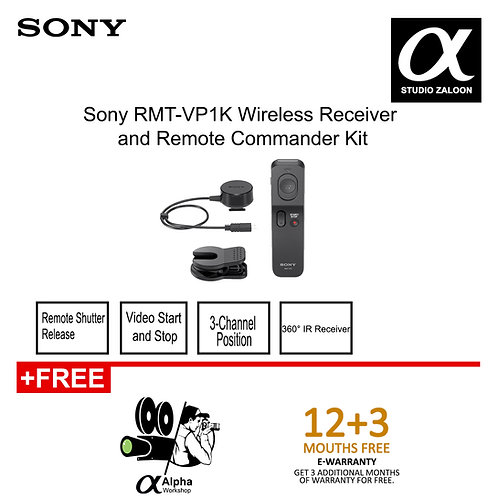 Sony RMT-VP1K Wireless Receiver & Remote Commander