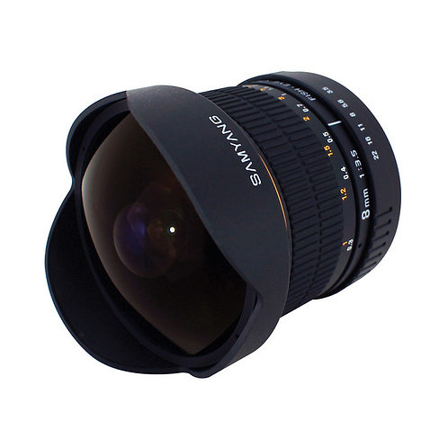 [PRE-ORDER 3 WEEKS] Samyang 8mm f/3.5 Fisheye Lens for NIKON AE