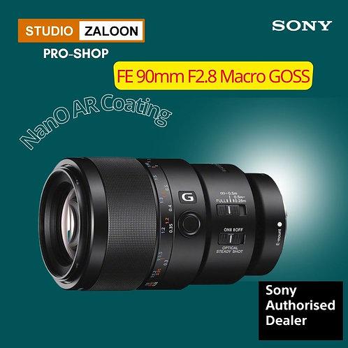 Sony FE 90mm f/2.8 Macro G OSS Lens COMBO