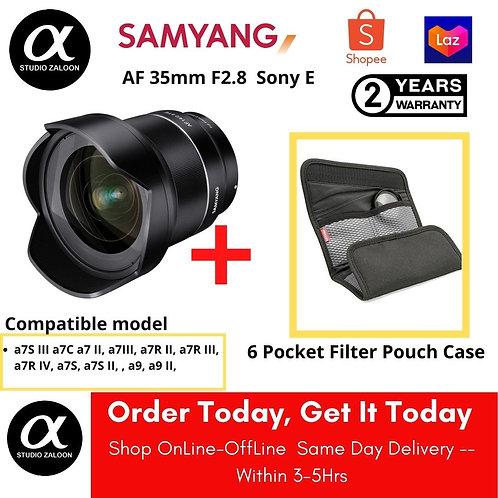 Samyang AF 14mm f/2.8 FE Lens for Sony E COMBO DEALS