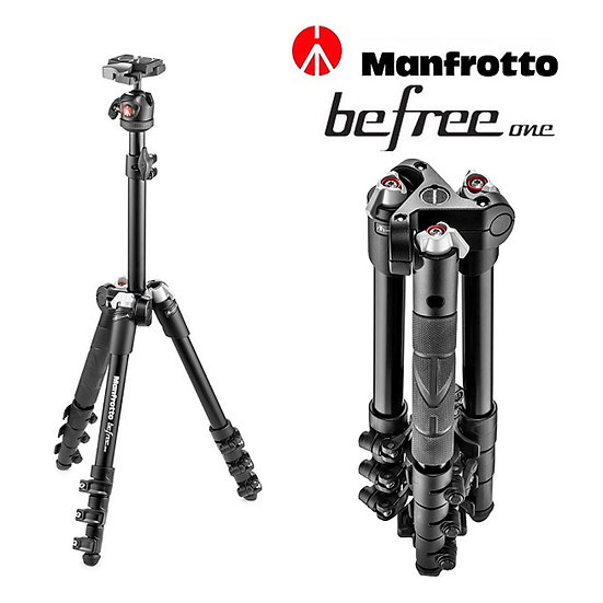 Manfrotto MKBFR1A4B-BH  Befree One Tripod Kit