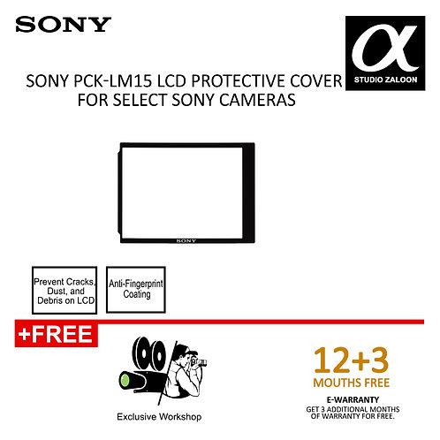 [PRE-ORDER 3 WEEKS]Sony PCK-LM15 LCD Protective Cover