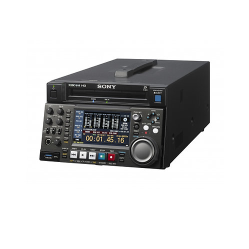 Sony PDW-HD1550 Professional Disc recorder/player recording