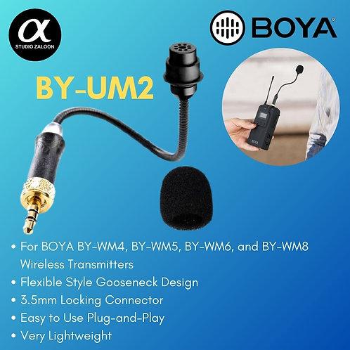 BY-UM2 3.5MM TRS LOCKING-TYPE GOOSENECK MICROPHONE