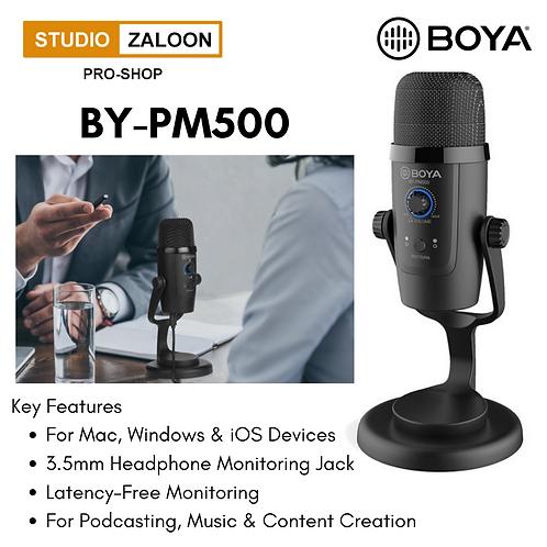 BOYA BY-PM500 USB Microphone (iOS/Android, Mac/Windows)
