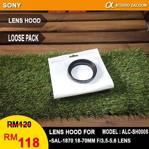Sony ALC-SH0006 Lens Hood for SAL-1870 18-70mm f/3.5-5.6 Lens