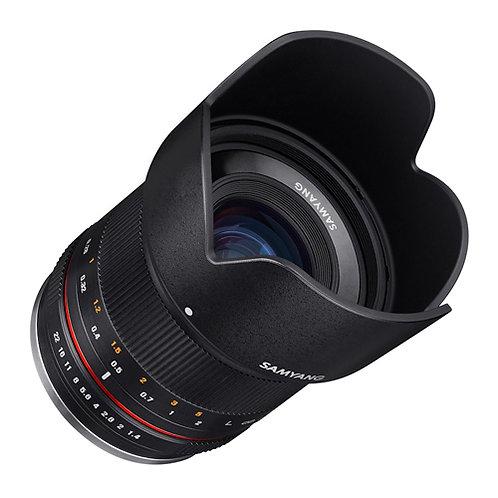 Samyang 21mm f/1.4 Lens for Sony E (Black)