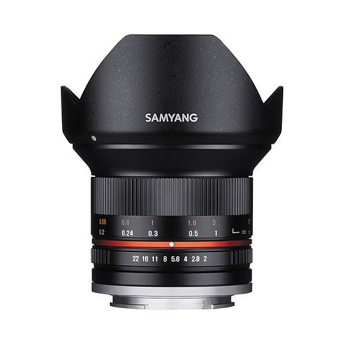 Samyang 12mm f/2.0 FX NCS CS Lens for SONY NEX