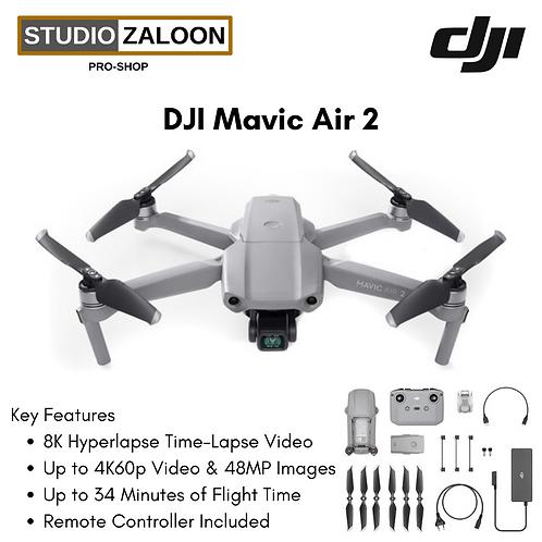 DJI Mavic Air 2 Drone with 48MP Camera 8K Video Quality