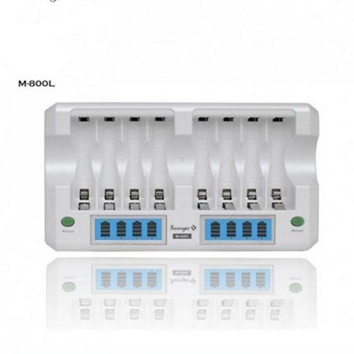 Samya / Enerpad M-800L Super Quick 8pcs AA /AAA premium Charger