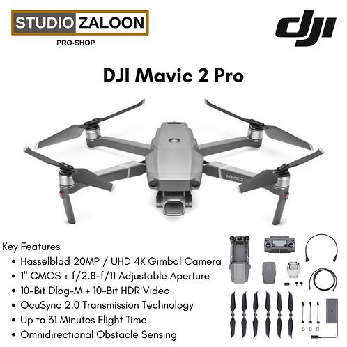 DJI Mavic 2 Pro - 4K Professional Aerial Drone with Hasselblad Camera