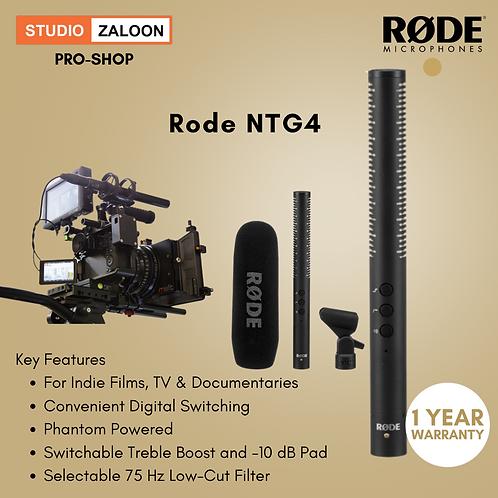Rode NTG4 Shotgun Microphone