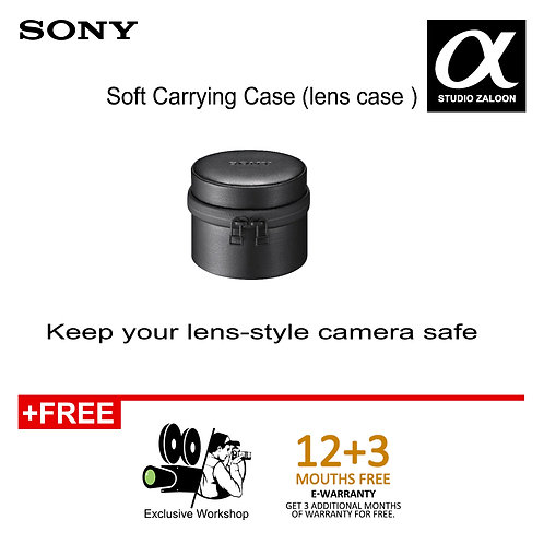 Sony LCS-BBM For DSC-QX10 Lens-Style Camera Case