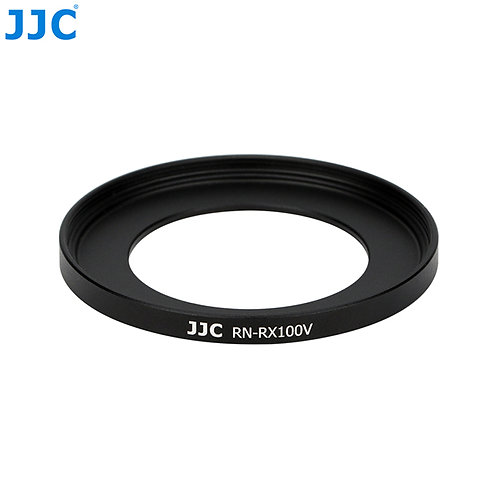 JJC RN-RX100V 52mm Metal Filter Ring Adapter with Lens Cap