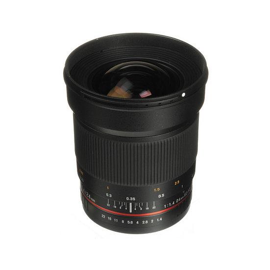 Samyang 24mm f/1.4 ED AS UMC Wide-Angle Len Sony A