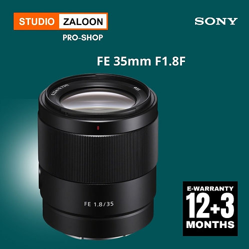Sony FE 35mm F1.8F Lens+INSTANT CASH BACK