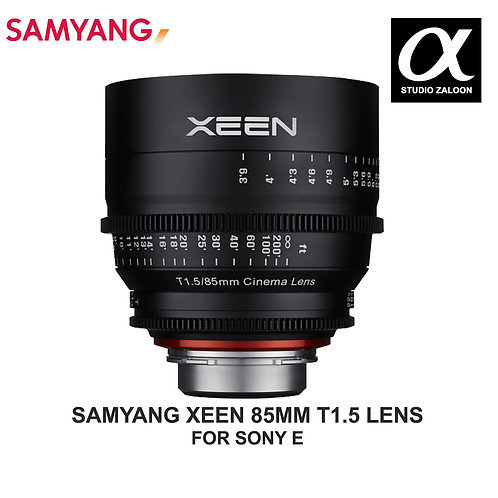 [PRE-ORDER 5 WEEKS] Samyang XEEN 85mm T1.5 Cine Lens for Sony E