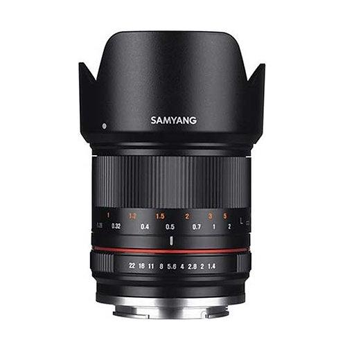 Samyang 21mm f/1.4 Lens for MFT