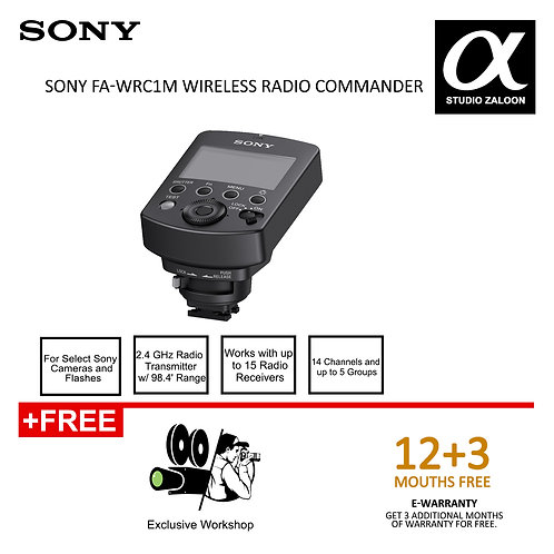 [Pre-order 4 weeks] Sony FA-WRC1M Wireless Radio Commander